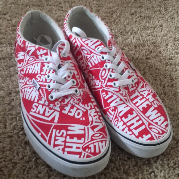 Vans Shoes   Vans Doheny Redwhite For